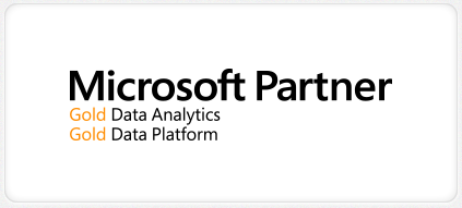 Microsoft Partner Gold Businesss Intelligence + Gold Data Platform